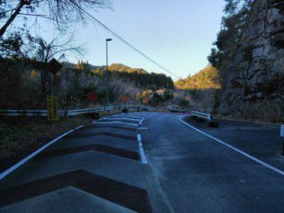 札郷トンネル北側