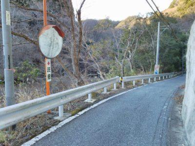 県道81号線狭隘区間