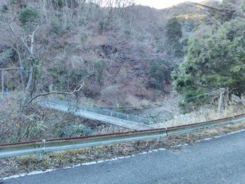 堂沢吊橋遠景