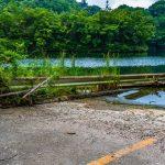 【千葉県】【廃道】ダム湖へと消える道、水没廃県道24号線