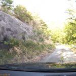 【ミニレポ】【山梨県】【林道】ダム湖ほとりにある極荒れダート、林道高成線