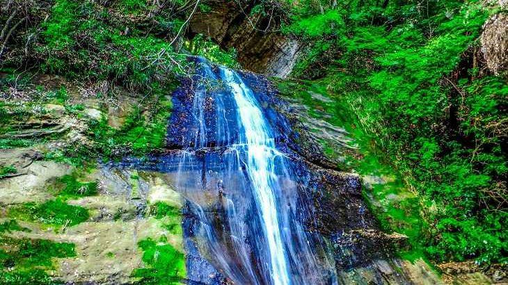 【千葉県】【秘境】隧道から流れ落ちる秘瀑~開墾場の滝