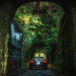 【ミニレポ】【千葉県】【林道】素掘二連隧道が待ち受ける林道月崎1号線