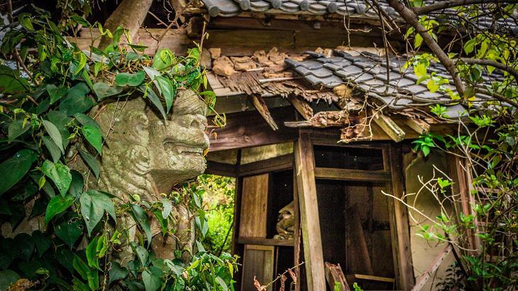 【千葉県】【廃神社】オーラ纏う朽ち果てた儚き廃墟、大山祇神社