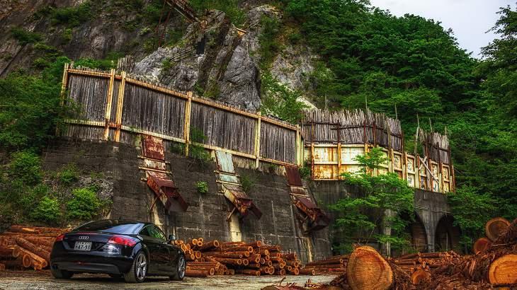 【群馬県】【廃鉱山】岩塊に張り付く巨大廃工場!磐戸鉱山跡を探索せよ!